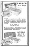 National Biscuit Company Adora Wafers 1914 Ad Picture
