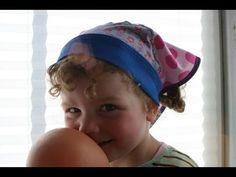 Kopftuch Prinzessin Aleyna von Leyona nähen - YouTube