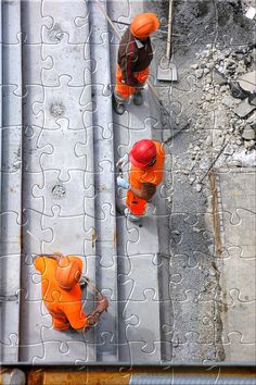 New Puzzle for Today: Baustelle Get it for free on iPhone,iPad and Android devices.  #jigsaw #puzzle #rompecabezas #indie #dev