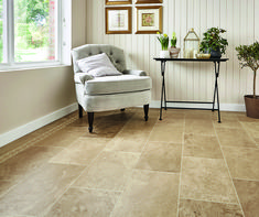 Inspired by the classic structure and timeless appeal of natural limestone, Dune has a predominantly beige tone throughout. Swirling, sandy-coloured patterns are a feature of this tile and create a floor that is sophisticated, yet understated.  Order your #free sample today! Stone Flooring, Kitchen Flooring, Stone Texture, Kitchen Colors, Kitchen Inspiration, Tool Design, Dune, Your Space, Tile Floor