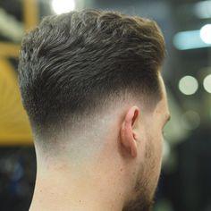 Haircut by rokkmanbarbers http://ift.tt/24LLaRJ #menshair #menshairstyles…