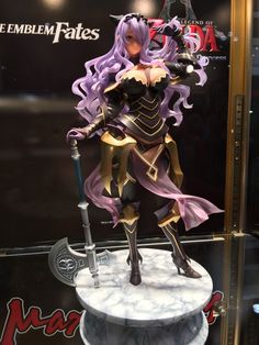 Painted Camilla Figure at New York Comic Con Anime Figures, Action Figures, Intelligent Systems, Fire Emblem Fates, Game Room Decor, Kpop, Rwby, Otaku Anime, Camilla