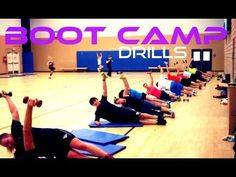 Boot Camp Drills - New ways to Train your Clients - YouTube
