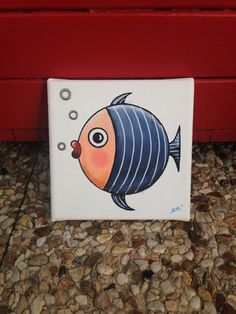 Hobbies Unlimited Portland Or Info: 2529219807 Stone Painting, Painting & Drawing, Shells And Sand, Art Projects, Projects To Try, Fish Art, Beach Art, Pictures To Paint, Nautical Theme