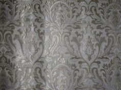 Silk Brocade Fabric in Silver.  Perfect for a gentleman's vest.