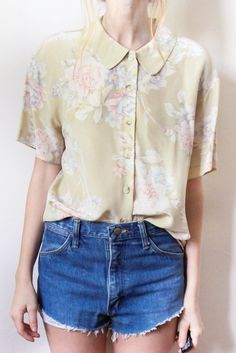 tea and tulips boutique - one of a kind vintage. — mints n pan blouse