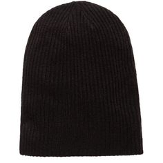 Ribbed Beanie ($15) ❤ liked on Polyvore featuring accessories, hats, ribbed hat, cable knit beanie hat, cable beanie, ribbed beanie hat and ribbed beanie