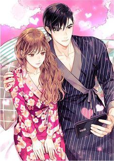 Anime Couples Drawings, Anime Couples Manga, Cute Anime Couples, Anime Guys, Anime Art Girl, Manga Art, Manga Anime, Cute Love Images, Cute Love Stories