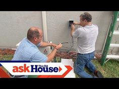 (1) How to Install a Ductless Mini-Split Air Conditioner - This Old House - YouTube Garage Studio, Garage Workshop, Garage Plans, Garage Ideas, Garage Heater, Diy Air Conditioner, Garage To Living Space, Workbenches, Four Seasons Room