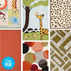 Safavieh Kids' Rugs. #LittleRue