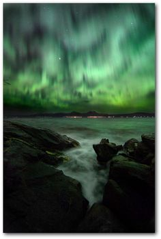 #Tromsø, #NorthernLighte #Norge. Photo Thorbjørn Riise Haagensen