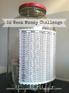 Copyrights: http://www.lifeasyouliveit.blogspot.com/2013/07/52-week-money-challenge-update.html