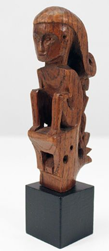 Small ancestor sculpture - Karo-Batak- North Sumatra - Indonesia