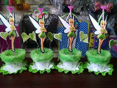Tinkerbell Party Theme, Fairy Birthday Party, Birthday Party Decorations, Baby Shower Decorations, Party Themes, Birthday Parties, Fairy Baby Showers, Diy Bebe, Cup Crafts