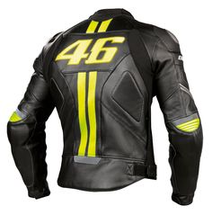 Dainese VR46 Leather Jacket - Back