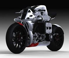 Kickboxer - Subaru WRX powered concept motorcycle.... f**k yeah
