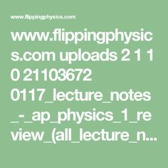 42 Best physics notes images in 2018 | Physics notes
