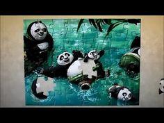 Kung Fu Panda Puzzle Game | Rompecabezas De Panda | Juegos para niños | ...