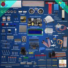 New Ultimate Starter Learning Kit for Raspberry Pi 2 Model B/B+ Python Servo  #DoesNotApply