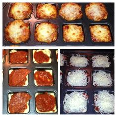 Deep Dish Pizzas - Brownie Pan Is Not Just for Brownies!!