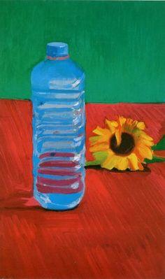 David Hockney   The Vittel Bottle   1995