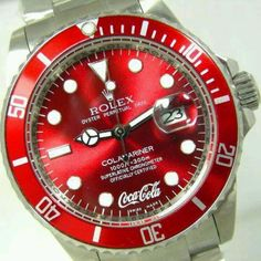 Coca Cola Rolex. Watch out! This fine piece is a classic. Wear it well!