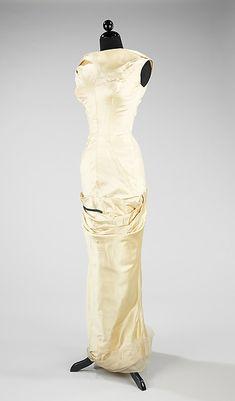 Evening dress, Charles James (American, born Great Britain, 1906–1978), silk, American
