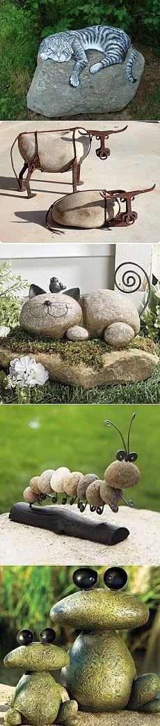 design incomum das pedras.