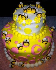 Bumble Bee Cake — The Birthday Blog