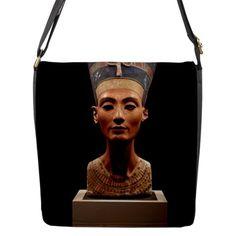 TheCityDesignGroup - Ancient Egyptian Queen Nefertiti Flap Closure Messenger Bag (Large), $59.99 (http://thecitydesigngroup.com/products/ancient-egyptian-queen-nefertiti-flap-closure-messenger-bag-large.html)