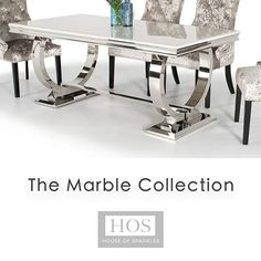 Timeless.. Shop the HOS Marble Collection now with Interest Free Credit options available at checkout! www.houseofsparkles.co.uk #marble #dining #design #homedetails #interiordesign #interiorstyling