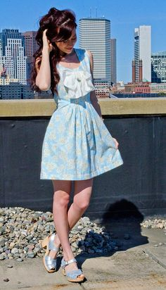 Bow front dress | Flickr - Photo Sharing!