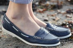 Buy Rita in Navy online from £45.00 | Deck Shoes | Chatham Marine
