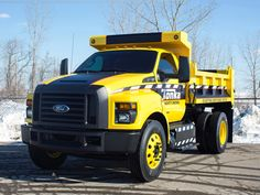 FORD TONKA TRUCK STORY Based on the all-new 2016 Ford F-650/F-750, The Mighty Ford F-750 TONKA Truck – the 10-foot-tall ultimate TONKA toy that is also certified Built Ford Tough – was revealed at the 2015 NTEA Work Truck show.