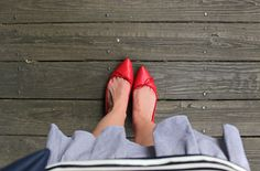 Petite in Pearls: An Easy Transitional Look featuring CC Corso Como Recital Ballet Flats
