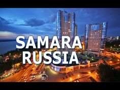Samara was known as Kuybyshev from 1935 to it is the sixth largest city in Russia. it lies along the Volga River. And capital of an eponymous region. Samara, Russia, Tourism, History, World, Sports, Youtube, Travel, Turismo