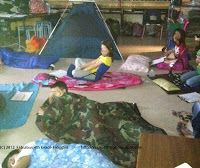 Camp Write Along, fun way to immerse students in writing - Fabulous 4th Grade Froggies