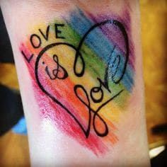 15 LGBT+ Tattoos To Show Your True Colors