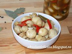 Absolut Delicios - Retete culinare: CIUPERCI MARINATE