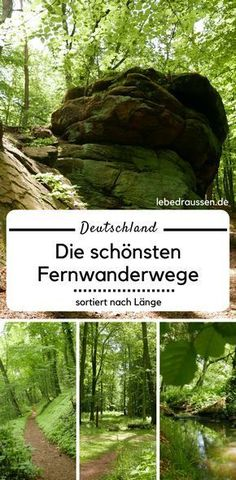 Deutschlands schönste Fernwanderwege – sortiert nach Länge Germany's long distance trails sorted by length: Have you already thought about a hiking holiday this year? Maybe too , at or generally in the on one of the many holidays? Bushcraft Camping, Camping And Hiking, Hiking Trails, Europe Destinations, Trekking, Holidays Germany, Travel Tags, Backpacking Europe, Germany Travel