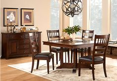 Shop for a Clairfield 5 Pc Dining Room at Rooms To Go. Find Dining Room Sets that will look great in your home and complement the rest of your furniture.