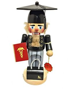 Steinbach SIGNED Doctor Graduate German Christmas Nutcracker New Graduation -- Details can be found by clicking on the image.