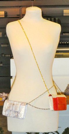 Women's fashion exotic skin accessories