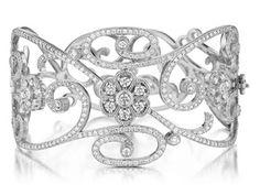 Penny Preville Diamond Lace Cuff-$23,655