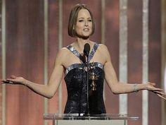 Jodie Foster eligió los Globo de Oro para confirmar su homosexualidad