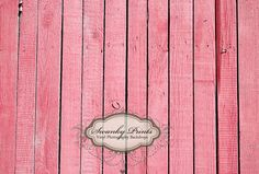 4ft x 3ft Vinyl Photography Backdrop / Pink Wood Floor / Perfect for Newborn or Childrens Pictures. $29.99, via Etsy.
