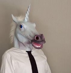Magical Unicorn Mask for Halloween