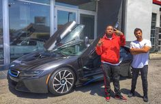 #CelebTuesday - DJ Mustard's BMW i8 If you've listened to any popular hip-hop songs recently, there is a good chance DJ Mustard produced the beat. The producer has had a hand in several big hits and has even recently released some of his very own songs. Needless to say with all of his success picking up a BMW i8 is no problem at all. With the i8's fancy doors and futuristic look, we wouldn't be surprised to see him showing it off on social media soon!#BmwPlatinoClassic…