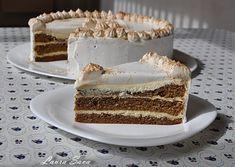 Acum, de Florii, in prag de mare sarbatoare, va invit sa degustati o feliuta din cel mai aromat si fin tort pe care l-am facut vreodata: Tort Mascarpone.E ca un tort Tiramisu, ba poate si mai bun, un tortpe care l-au savurat doar baietii casei :))) Promit solemn ca asta este ultima oara cand (imi) mai fac asa ceva!!!! Mirosul proaspat de cafea in combinatie cu crema usoara de mascarpone m-a naucit:D Si chiar daca am avut o portie de clatite de post stropite apetisant cu sos de miere si smo... Vanilla Cake, Mai, Deserts, Ethnic Recipes, Food, Mascarpone, Essen, Postres, Meals