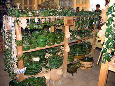 Santa Maria Atzompa - Green Pottery Village